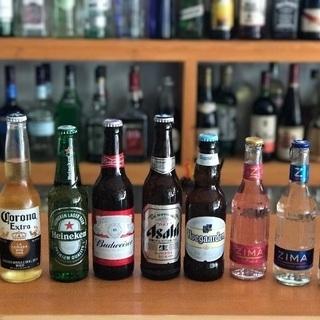 ショットバー【本日のお得】ビール全種類20%引き