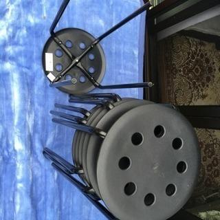 7本 IKEA イケア 丸椅子 ラウンドチェア イス MARIUS...