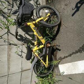 子供用自転車 ★ジャンク品★16インチ?