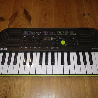 カシオ ミニキーボード SA-46 電子楽器 電子キーボード 電...