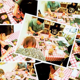 東京・中野のチョークアート描き方教室 ChalkartStudio-LiLa-(チョークアートスタジオリラ) - 中野区