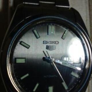 セイコー時計5本セットbox 付き