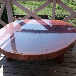 一枚板のテーブル(最終値下げ)