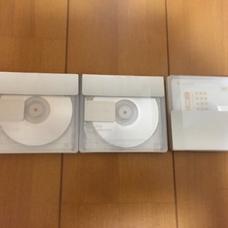 未使用MDディスク