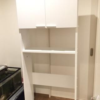洗濯機ラック、日本製、組立済、配送可、新品。