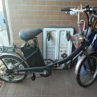 【交渉中】ジャンク 電動アシスト折りたたみ自転車