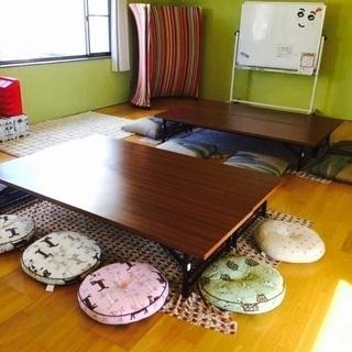 カフェ2階のレンタルスペース!
