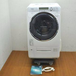 TOSHIBA9キロです 2007年式ドラム式洗濯機です 送料コ...