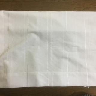 ニトリのレースカーテンセット(白)