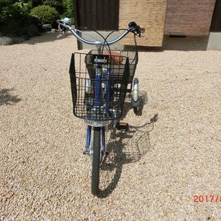 電動アシスト三輪自転車ASU-3WT3 リハテック フランスベッド