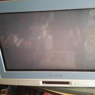 三菱ブラウン管テレビ32型