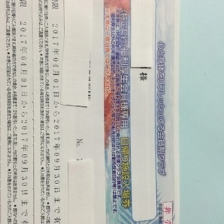 スパリゾートハワイアンズ 日帰り施設入場券  900円