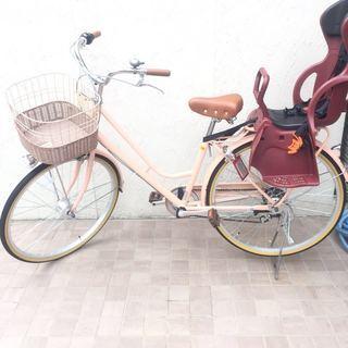 新同品!シティ自転車26、6段変速!購入2週間以内!走行わずか4KM!
