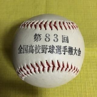 全国高校野球選手権大会ボール  中古