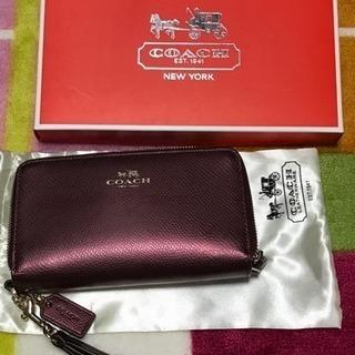 コーチのコンパクト財布