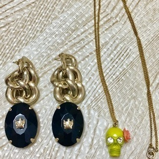RodeoCrowns ピアス&ネックレス2点セット