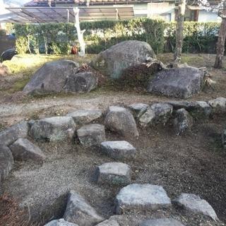 庭石の処分に困っています。