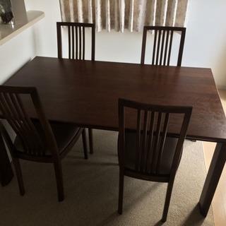カリモク ダイニングテーブル・椅子セット