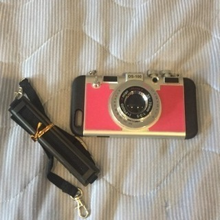 【19】美品 カメラ風iPhoneケース