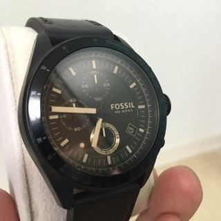 フォッシル FOSSIL 腕時計 中古美品 電池切れ