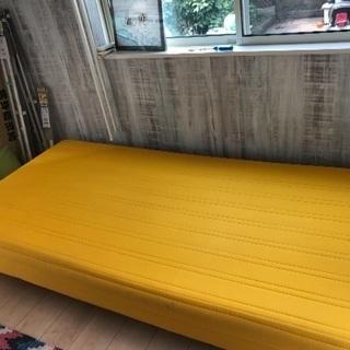 シングルベッド 黄色 中古品