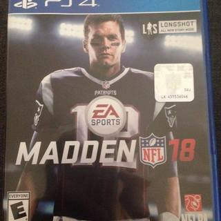 NFL 18 PS4