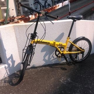ハマー♪折り畳み自転車(^^)