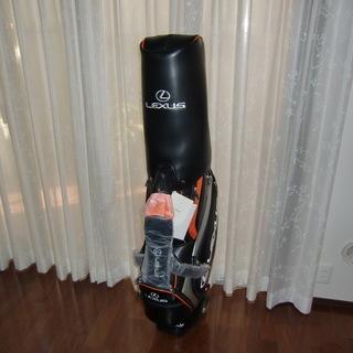 レクサス・オリジナルキャディバッグ 9.5型 新品(非売品)