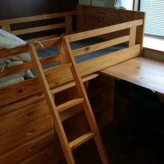 子ども用システムベッド&デスク