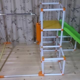 キッズパークSP ジム+スベリ台+鉄棒