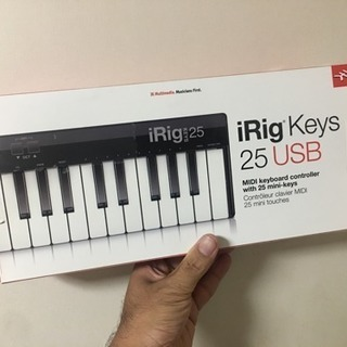 iRig key mini 25鍵