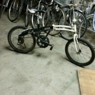 6速ギア折り畳み自転車自走ok