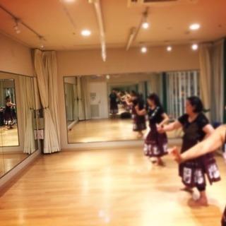 はじめてのフラダンス大人の体験会♪@横浜ワールドポーターズ