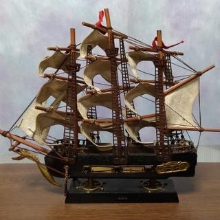 帆船  800円 --> 500円に値引きしました。