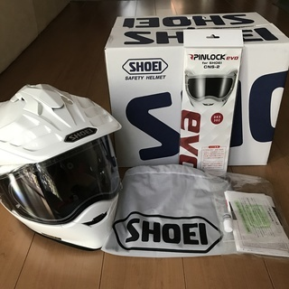 SHOEI HORNET ADV 白 Lサイズ使用少ない