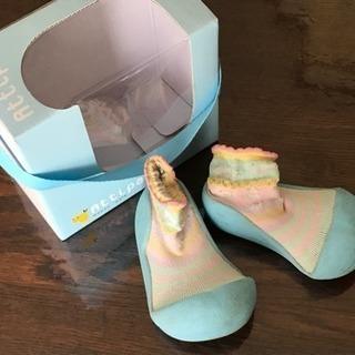 ベビーシューズ★12.5cm★アティパス★靴下一体型