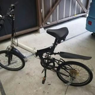 成約済み 20インチ折り畳み自転車