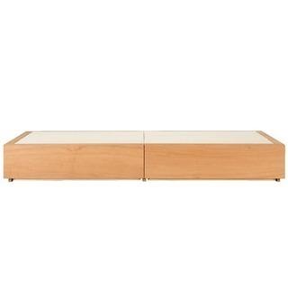 無印良品 収納ベッド・シングル・オーク材