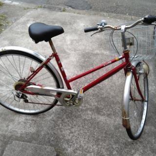(交渉中)27インチ自転車 ジャンク