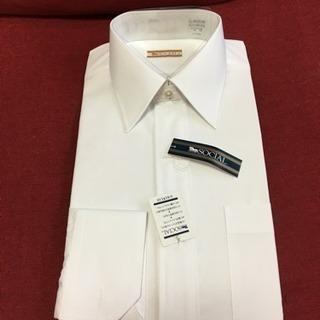 新品‼️白 Yシャツ 38 長袖ワイシャツフォーマル メンズ 通勤...