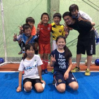 Jrサッカー・フットサルスクール開催中
