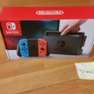 値下 Nintendo switch ネオンブルーネオンレッド