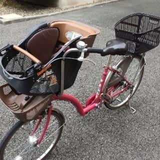 最終値下げ  ※少々訳あり  前子供乗せ自転車  あさひサイクル ...