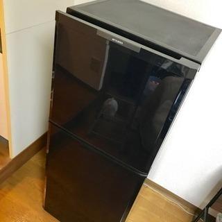 三菱 冷蔵庫 ブラック 美品