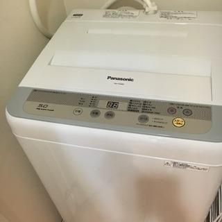 Panasonic洗濯機、9000円!
