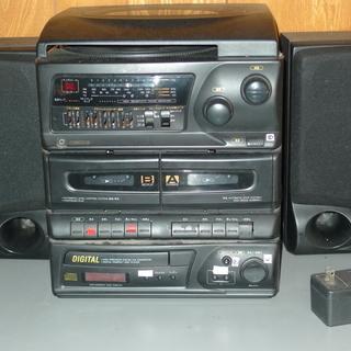 至急!9月19日迄限定! ステレオ  CD プレイヤー カセットプ...