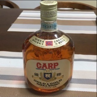 レア物 カープ 優勝記念 ウイスキー