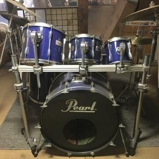 Pearl ドラムセット Zildjian