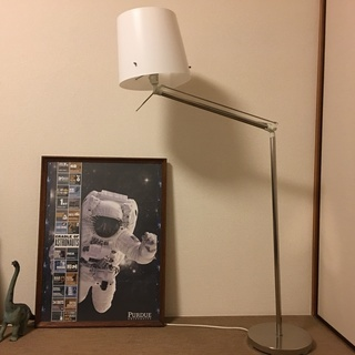 IKEA SAMTIDフロアランプ・中古