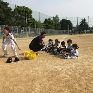 幼児〜小学生の野球教室京都府長岡京市